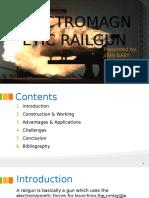 Electromagnetic Railgun