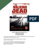 The Walking Dead - Roman 1 - L'Ascension Du Gouverneur