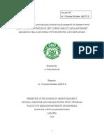 PK1 - Below Knee Amputation Sinistra Ec Recurrent Squamous Cell Carcinoma - Rifky Mubarak - Semester 3
