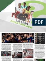 La Liga 1617 Guide