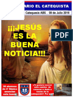 Diario catequesis 1° año 2016