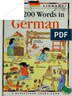 First 200 Words in German