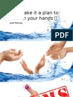 Handwashing Health teaching for preschoolers