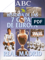 Real Madrid - Historia 7 Copas Europa
