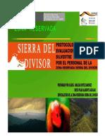 Protocolo Para La Evaluación de Fauna Silvestre