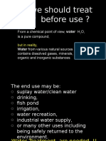 3rd Water Treatment