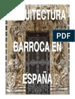 Arquitectura Barroca Espanola