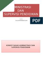 1.Administrasi Dan Suprvisi Pend