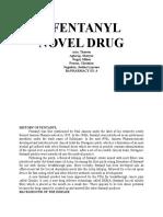 Fentanyl Novel Drug