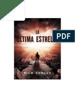 La Última Estrella-rick Yancey