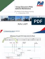 PGD Predictive Maintenance PLTU Ropa