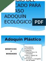 Estudio Del Mercado - Adoquines Ecológicos.