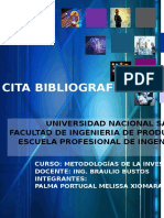 Cita Bibliograficas Tema 3 y 4