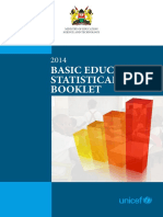 2014 Basic Education Statistical Booklet