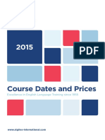 St Giles Course Dates and Prices 2015