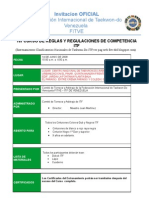 1er CURSO DE REGLAS Y REGULACIONES DE COMPETENCIA ITF