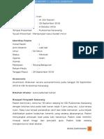 Case Report - Vulnus Laceratum & Minor Surgery