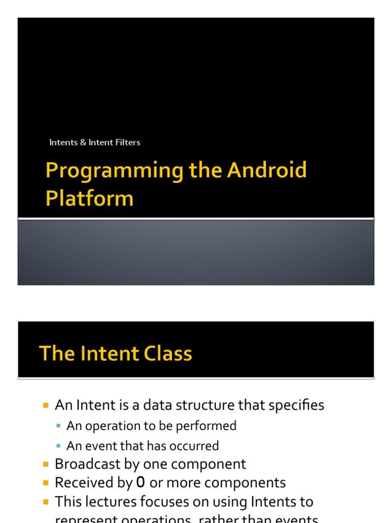 Droid Platform pdf   String (Computer Science)   User