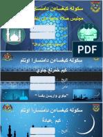 Banner Solat Hajat Khatam Quran