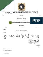 Rabbana Dua's – Dua & Azkar.pdf