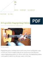 Legendary Fingerpicking Patterns
