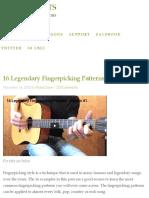 Legendary Fingerpicking Patterns