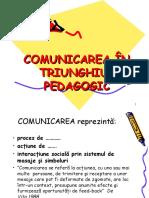 3.Comunicarea in Triunghiul Pedagogic