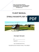 Flight Manual Dynali H3 EasyFlyer 'Sport'