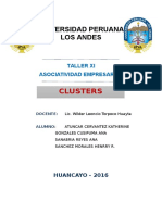 Taller XI - Clusters