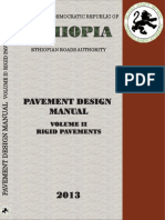Pavement Design Manual Volume II Rigid Pavements 2013