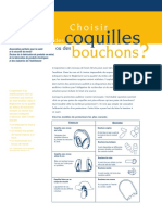Coquille Ou Bouchons Oreille