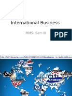 International Business A