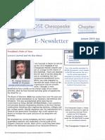 2015 Chesapeake Newsletters