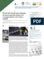 El Jefe Del Daesh Para España, Un Marroquí Que Incita a La «Recuperación» de Ceuta y Melilla