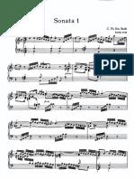 2.1 Bach (C.P.E.) - Sonata Württemberg no 1