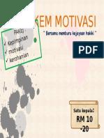 Kem Motivasi Brochure