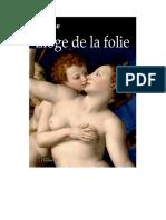 ERASME ELOGE DE LA FOLIE