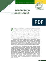 Bab 16- Rencana Kerja Tindak Lanjut