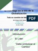 El Liderazgo en La Era de La Globalización