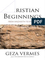 Geza Vermes-Christian Beginnings_ From Nazareth to Nicaea-Yale University Press (2013)