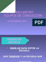 1ª Encuentro Con Directivos 26 de FEBRERO 2013
