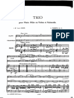 Farrenc - Op 45 -Trio for Flute, Cello, And Piano