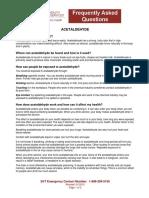 Acetaldehyde Health