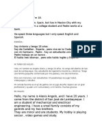 Ingles Oral