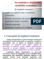 Analiza Stat. a Legaturiolor