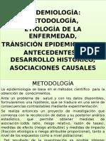 2. Epidem. Metodolog.etiologia Historia
