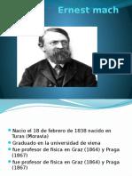 Ernest Mach Epistemologia