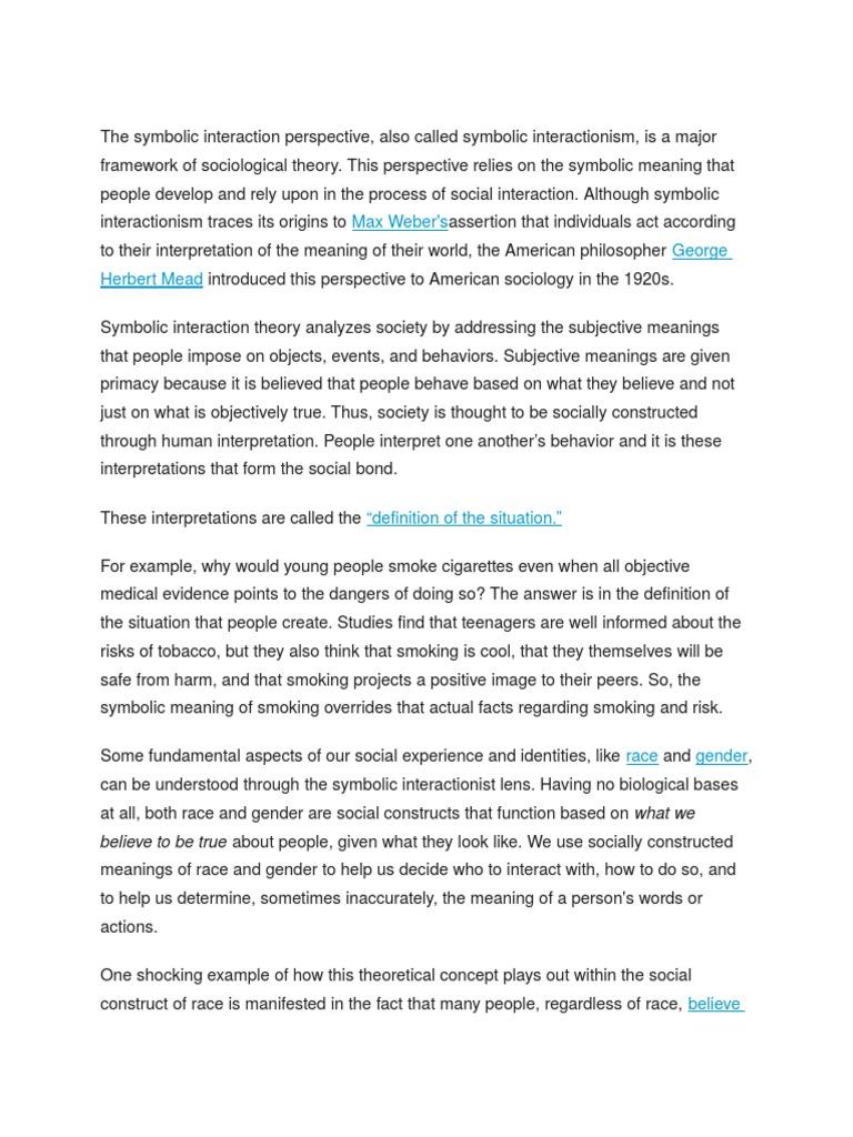 Symbolic interactionism theory definition gallery symbol and the symbolic interaction perspective philosophical theories the symbolic interaction perspective philosophical theories social psychology buycottarizona biocorpaavc
