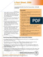Dental Health FactSheet