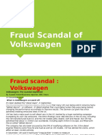 Fraud Scandal